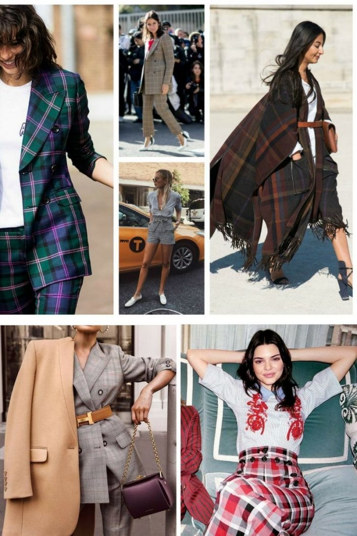 Plaid Print For Summer 2018 Easy Outfit Ideas (2)
