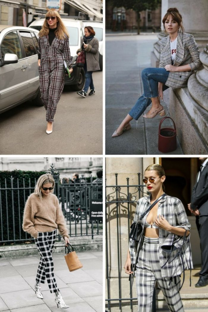 Plaid Print For Summer 2018 Easy Outfit Ideas (5)