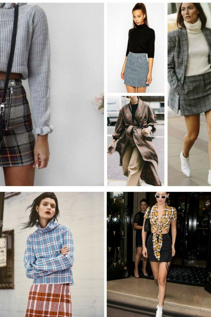 Plaid Print For Summer 2018 Easy Outfit Ideas (7)