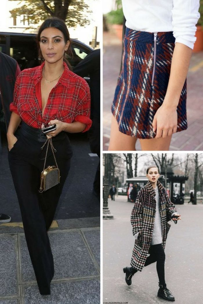Plaid Print For Summer 2018 Easy Outfit Ideas (8)