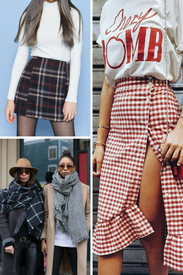 Plaid Print For Summer 2018 Easy Outfit Ideas (9)