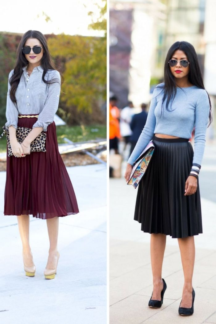 Pleats - New Women's Fashion Trend 2019