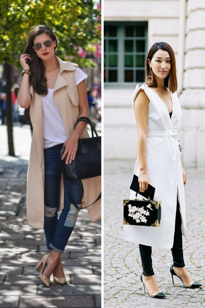 Sleeveless Coats For Spring 2019