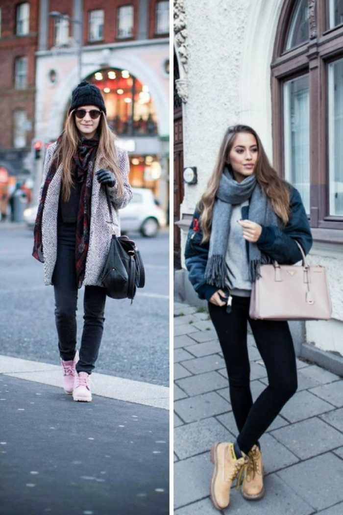 Timberland Boots For Women 2018 Street Style (5)