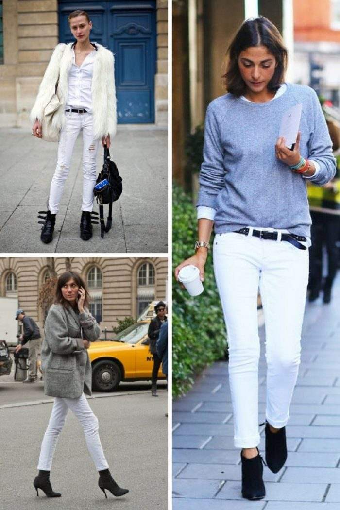 Women's White Jeans To Try Now 2019