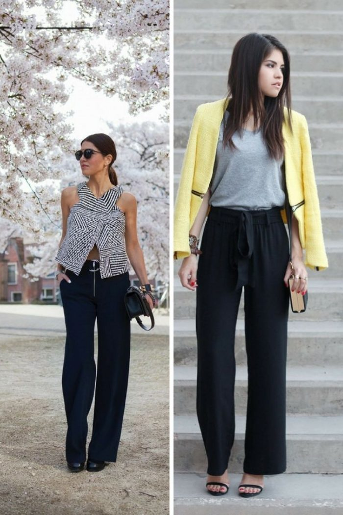 Wide Leg Pants For Women 2018 How To Wear Them (1)