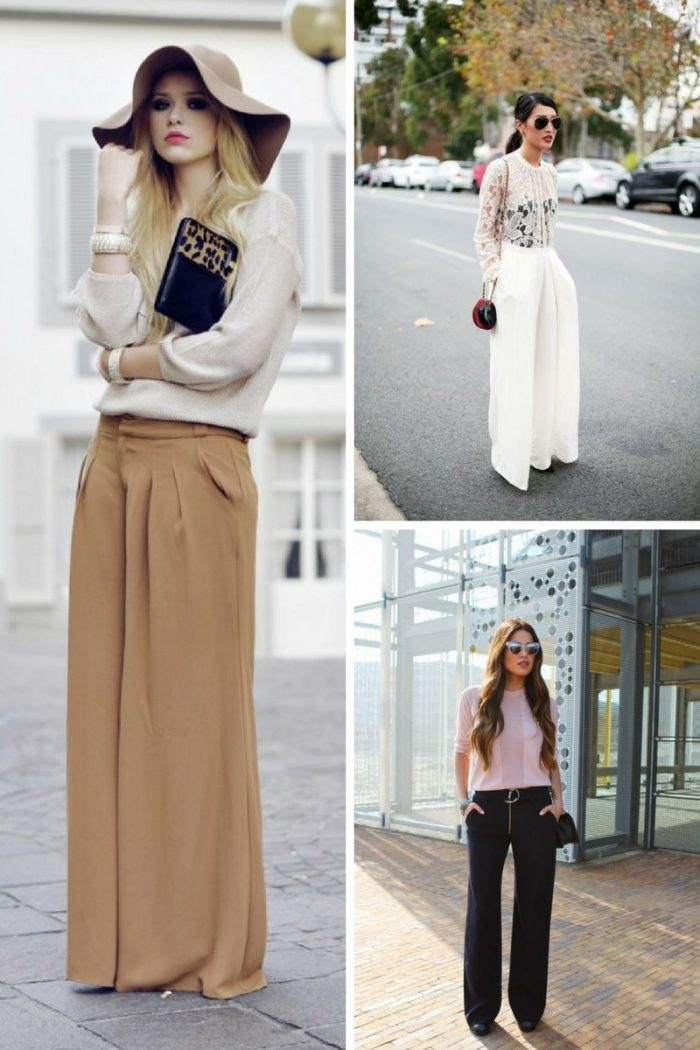 Wide Leg Pants For Women 2018 How To Wear Them (3)