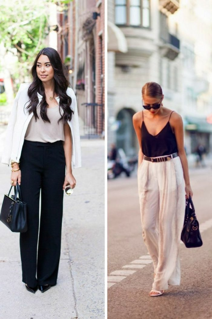 Wide Leg Pants For Women 2018 How To Wear Them (4)