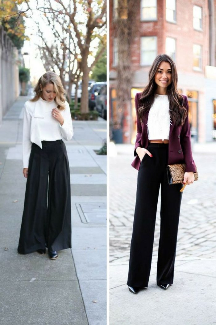 Wide Leg Pants For Women 2018 How To Wear Them (6)