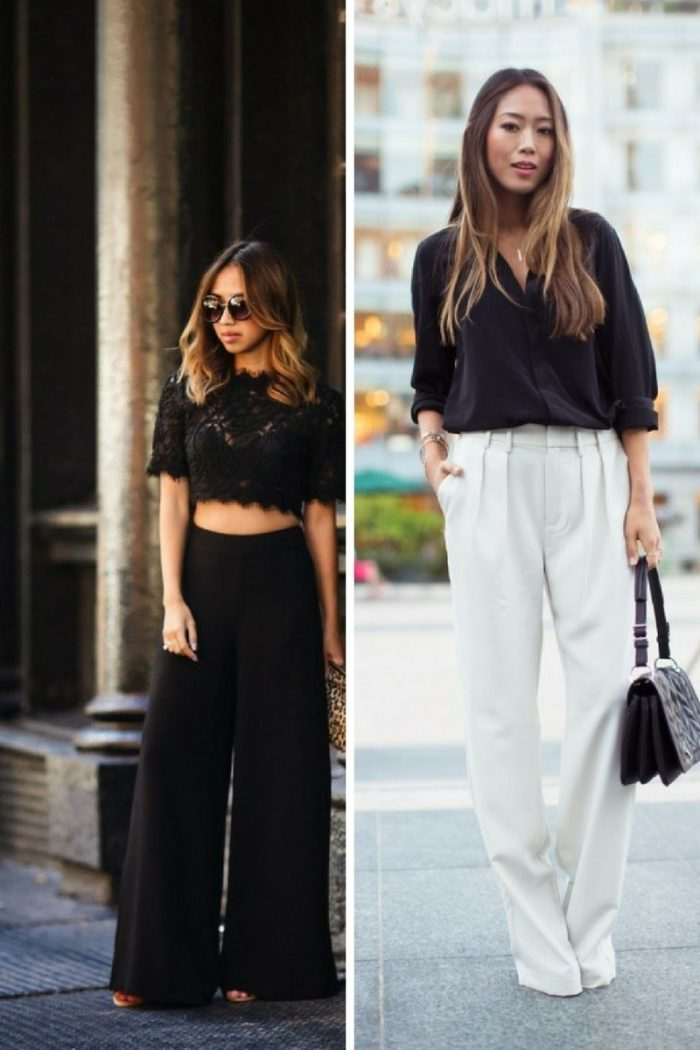 Wide Leg Pants For Women 2018 How To Wear Them (7)