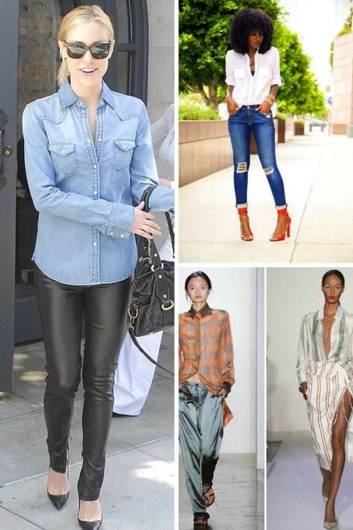 Women's Button-Down Shirts 2019