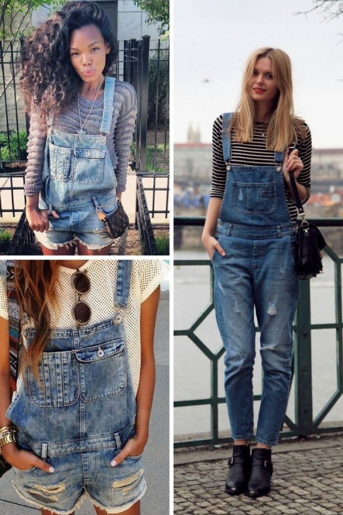 Women's Denim Overalls Are On Trend 2019