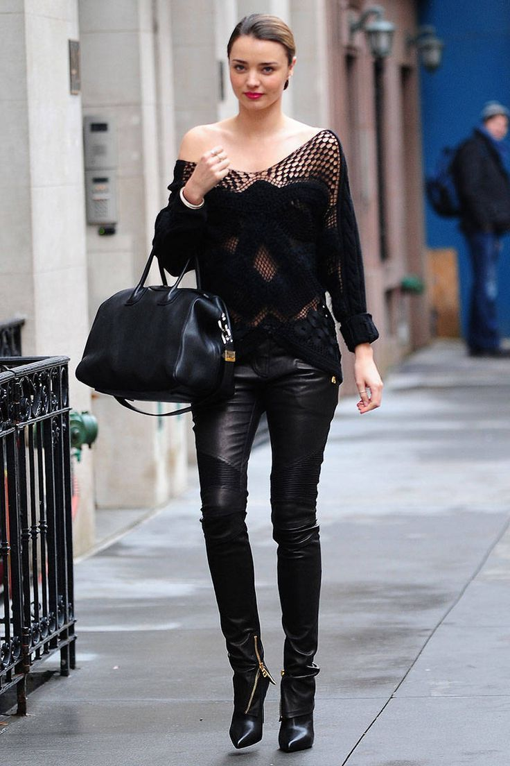 All Black But Gold: All Black Outfits For Women 2019