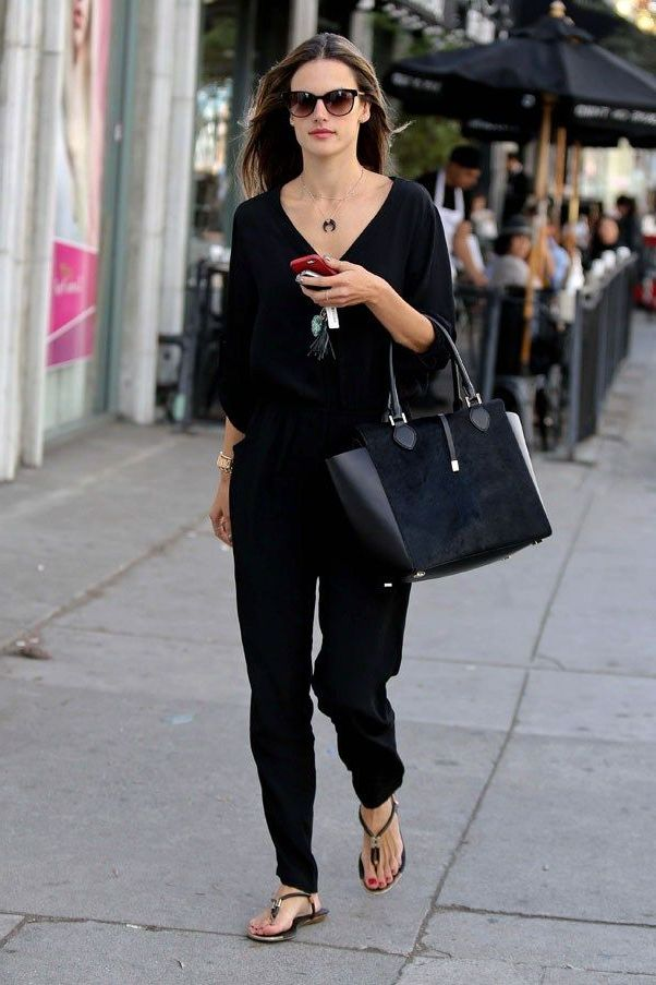 All Black Outfits For Women 2020