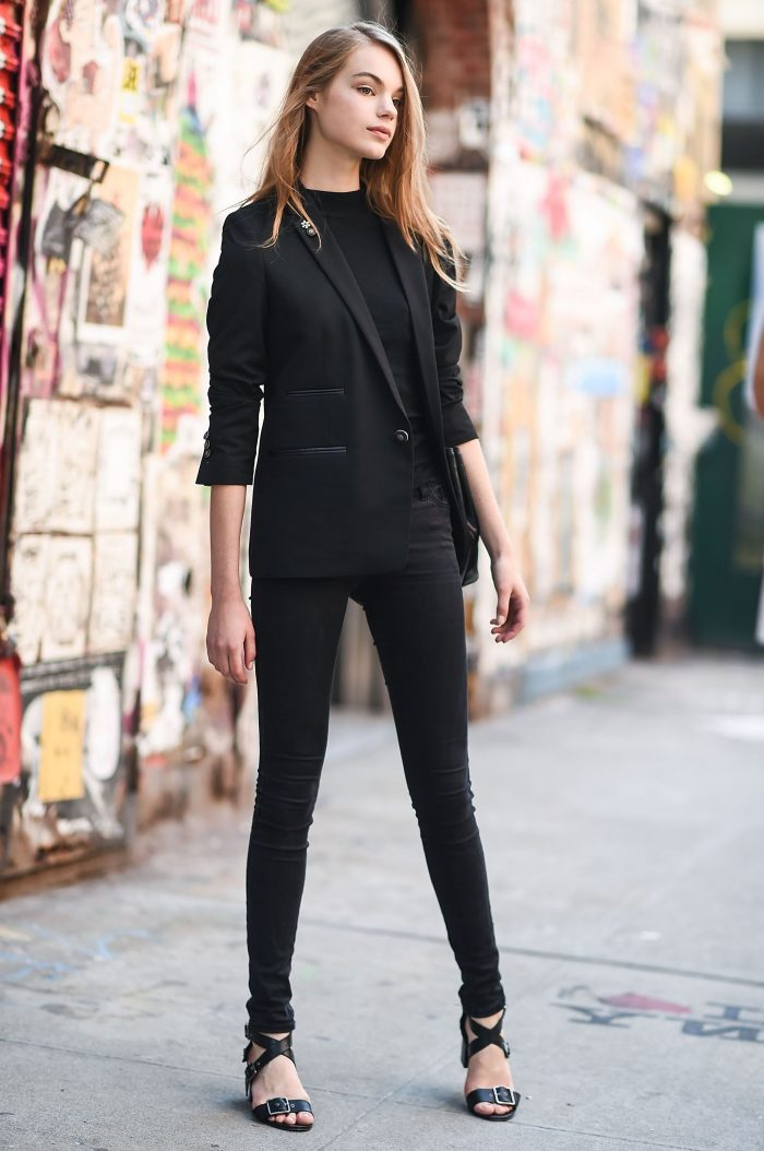 All Black Outfits For Women 2019