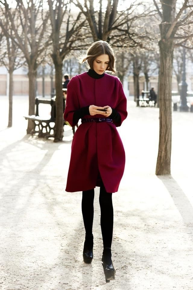 2018 Best Color Combos To Try This Winter (25)