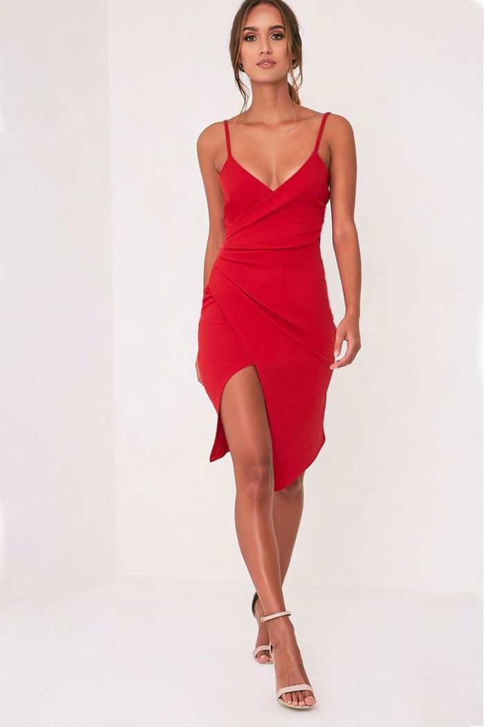 2018 Best Red Dresses For Valentines Day (11)