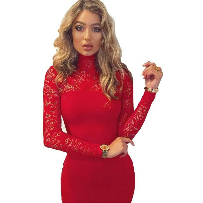 2018 Best Red Dresses For Valentines Day (2)