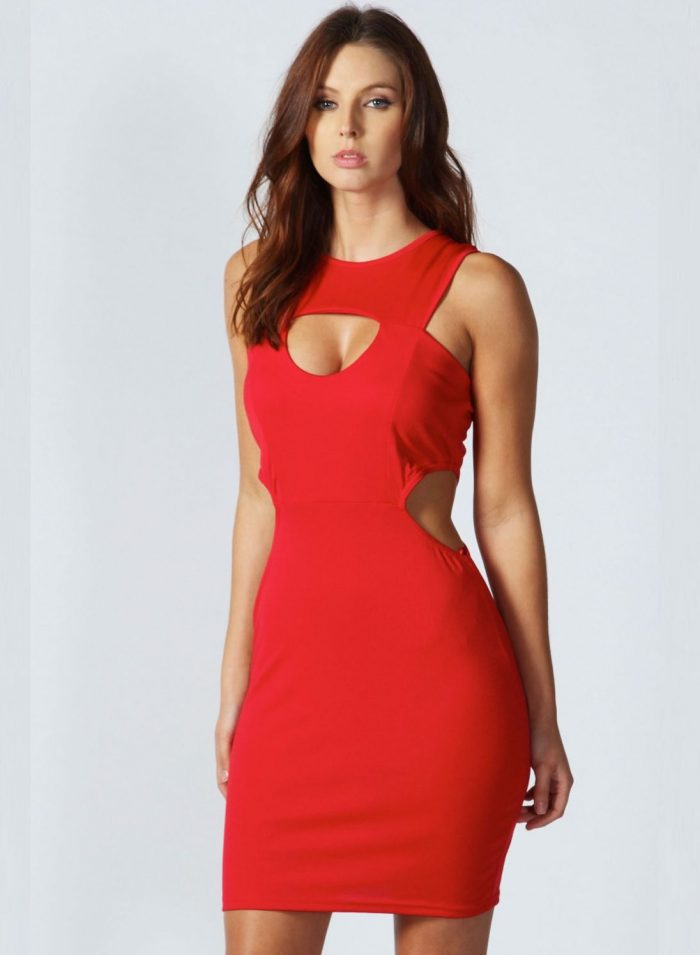 2018 Best Red Dresses For Valentines Day (25)