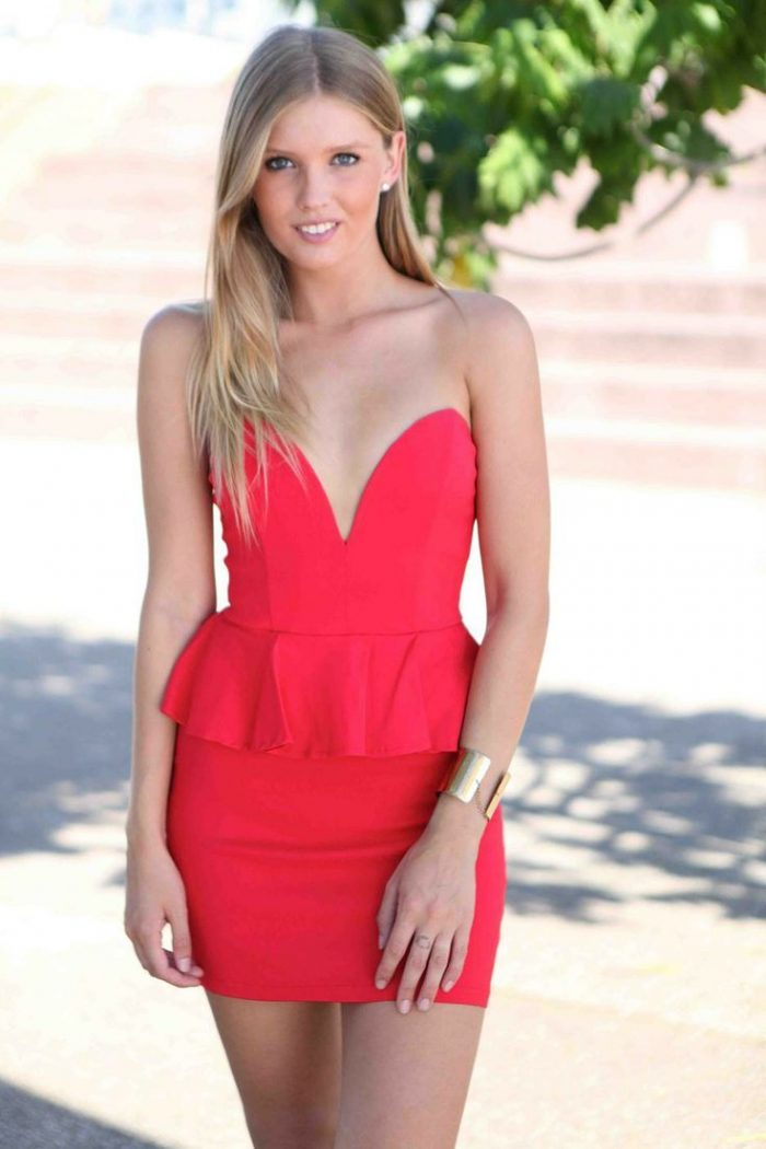 2018 Best Red Dresses For Valentines Day (35)
