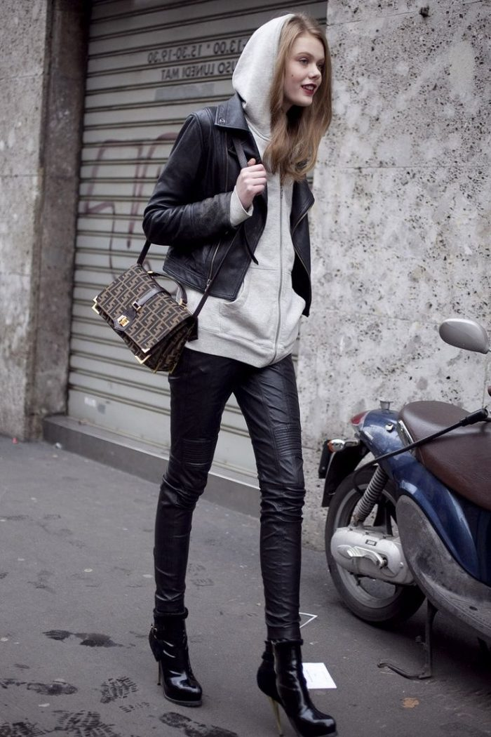 How to Look Chic in a Biker Jacket 2020