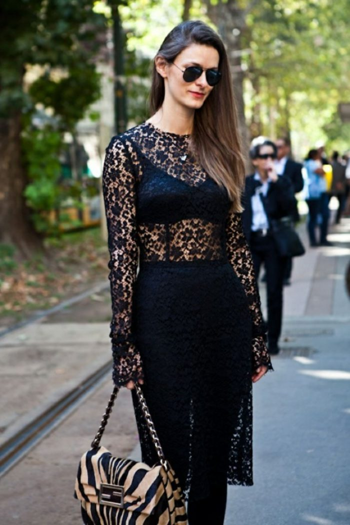 2018 Black Lace For Women (2)