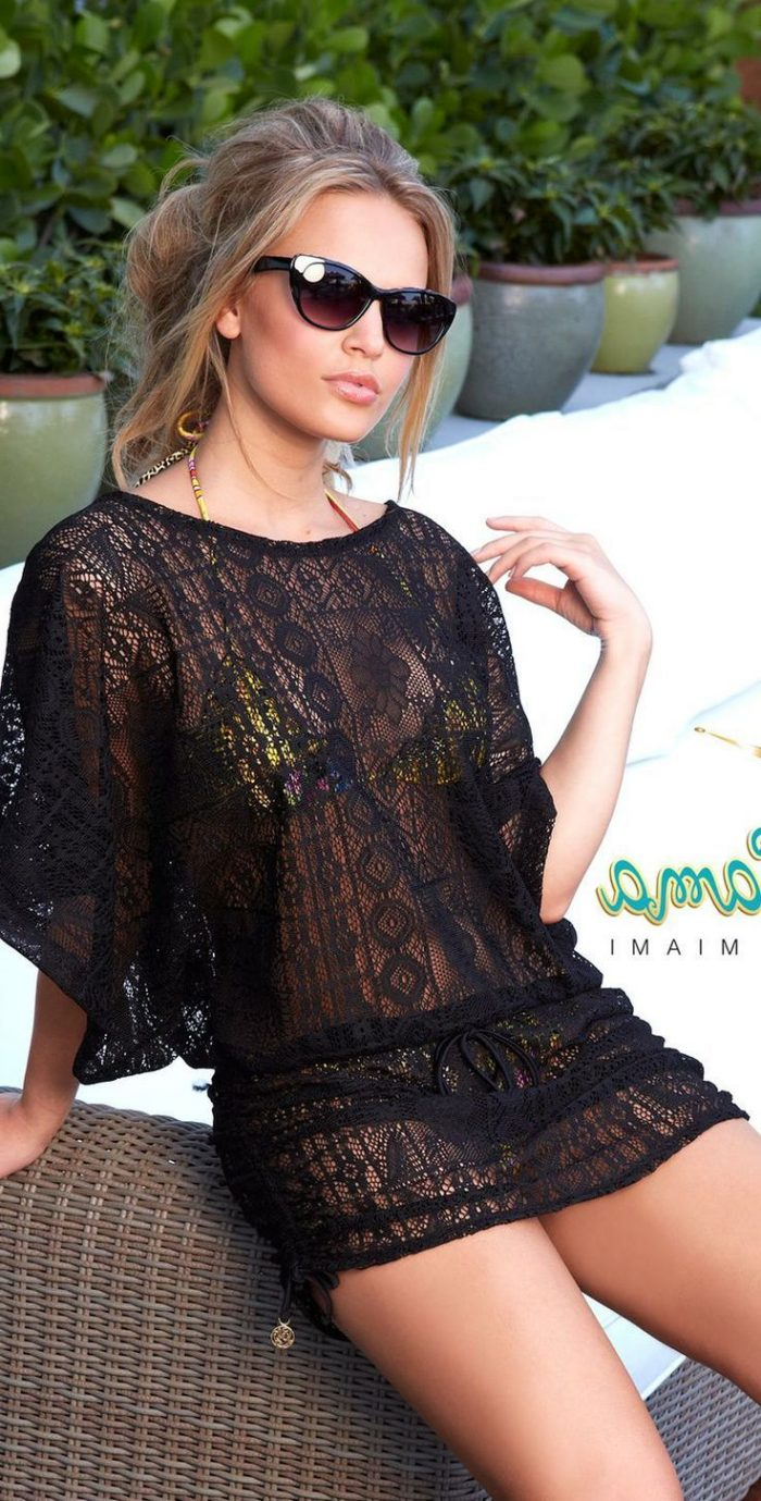 2018 Black Lace For Women (4)