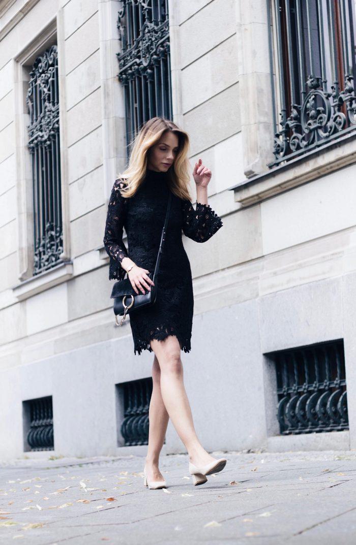 Black Lace For Women Best Ideas How To Wear It 2019