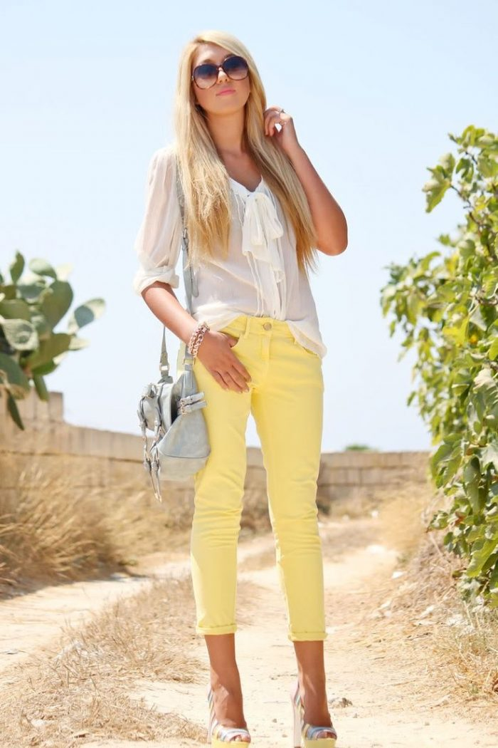 Fashionable Capri Pants For Women 2019