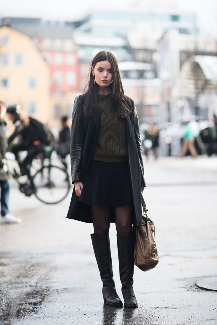 2018 Cold Weather Fashion Trends For Women (10)
