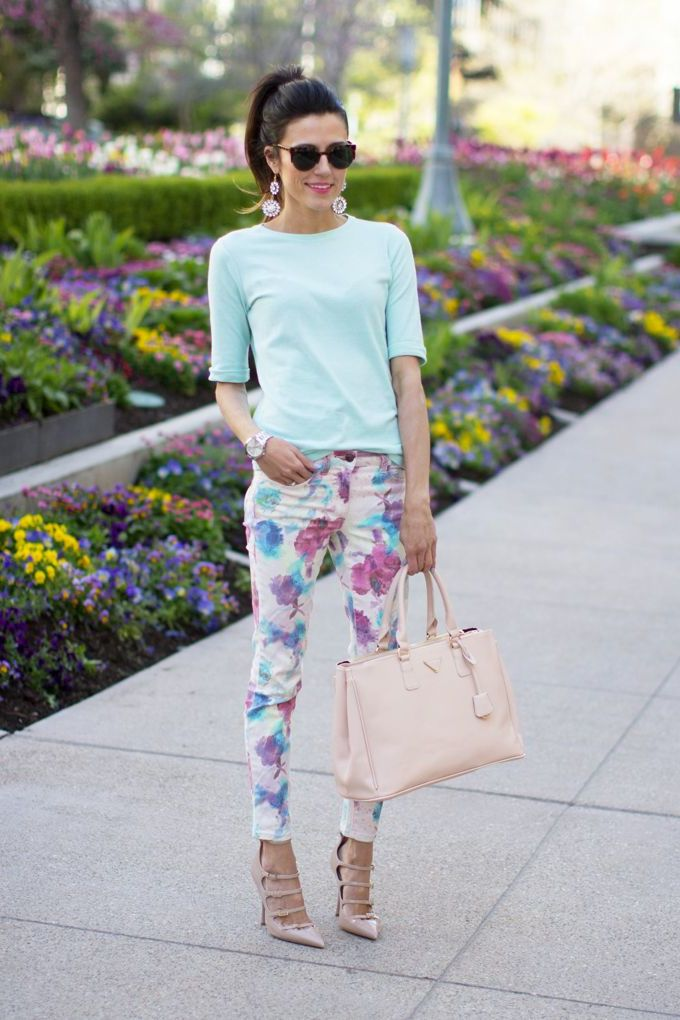2018 Floral Pants For Women (22)