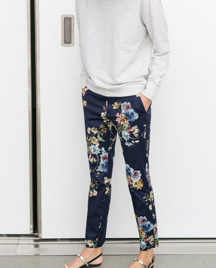 2018 Floral Pants For Women (4)
