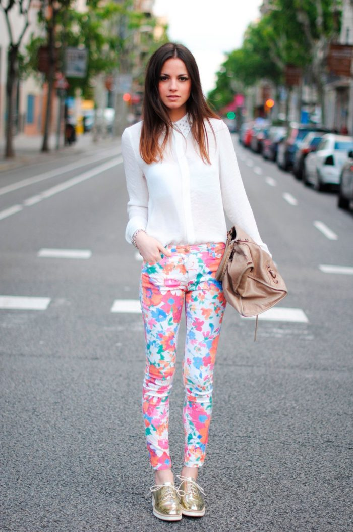 Floral Pants For Women 2020
