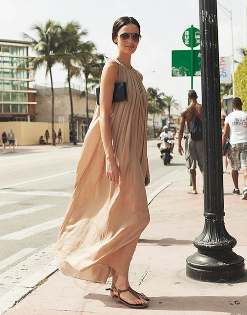 2018 Footwear For Maxi Dresses And Skirts (17)