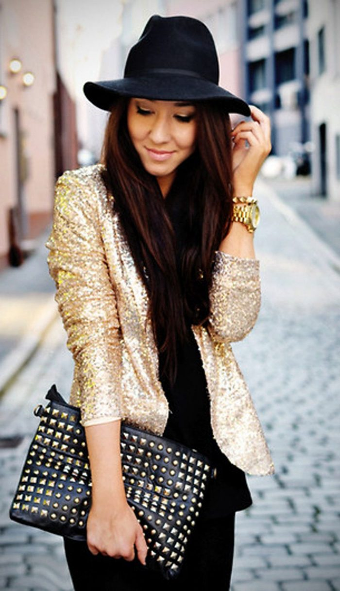 Glitter Fashion Trend For Women 2021