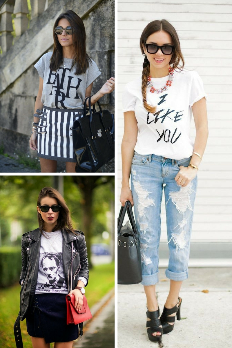b0752717d Graphic Tees For Women To Look Chic 2019 – WardrobeFocus.com