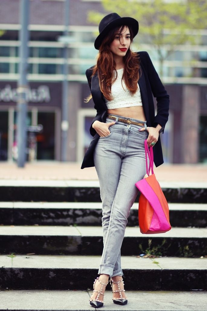 High Waisted Jeans For Women: Tips And Tricks To Wear 2020