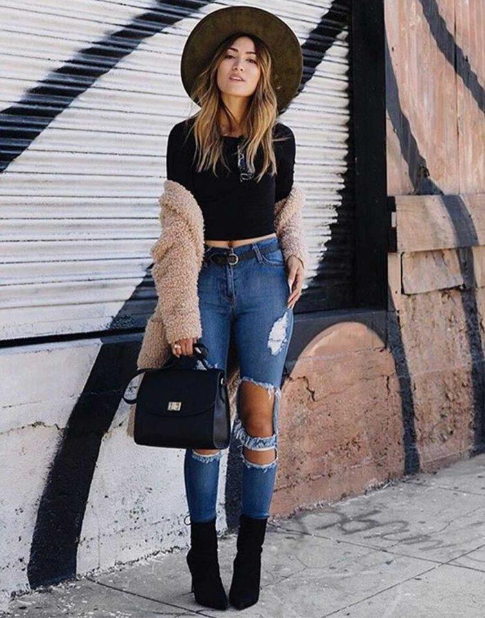 2018 High Waist Jeans For Women (2)