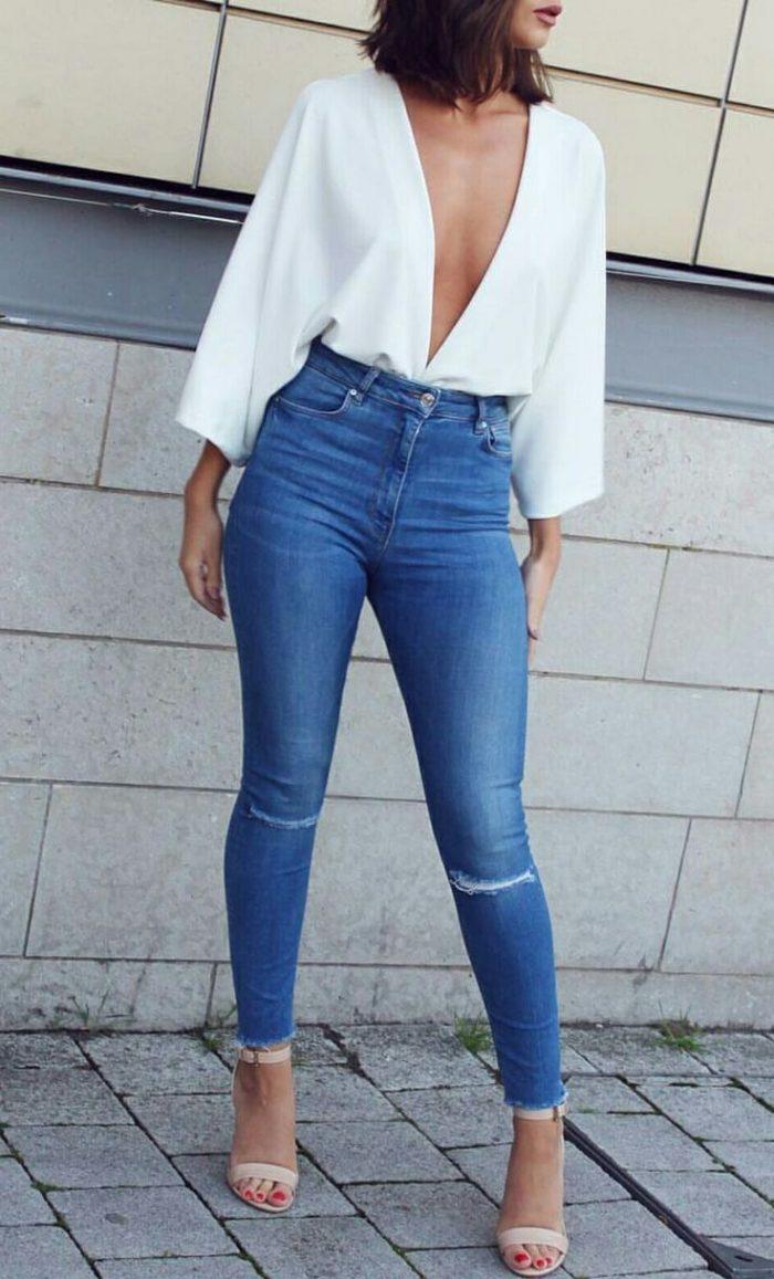2018 High Waist Jeans For Women (3)