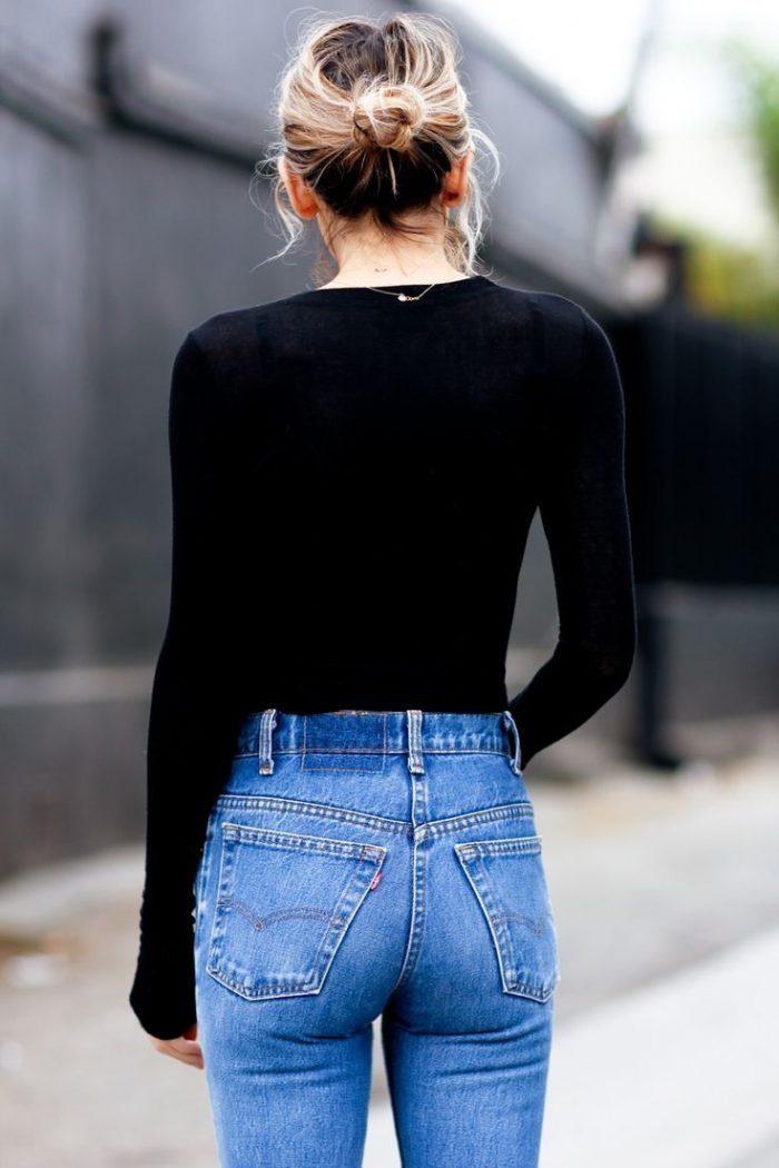 2018 High Waist Jeans For Women (5)