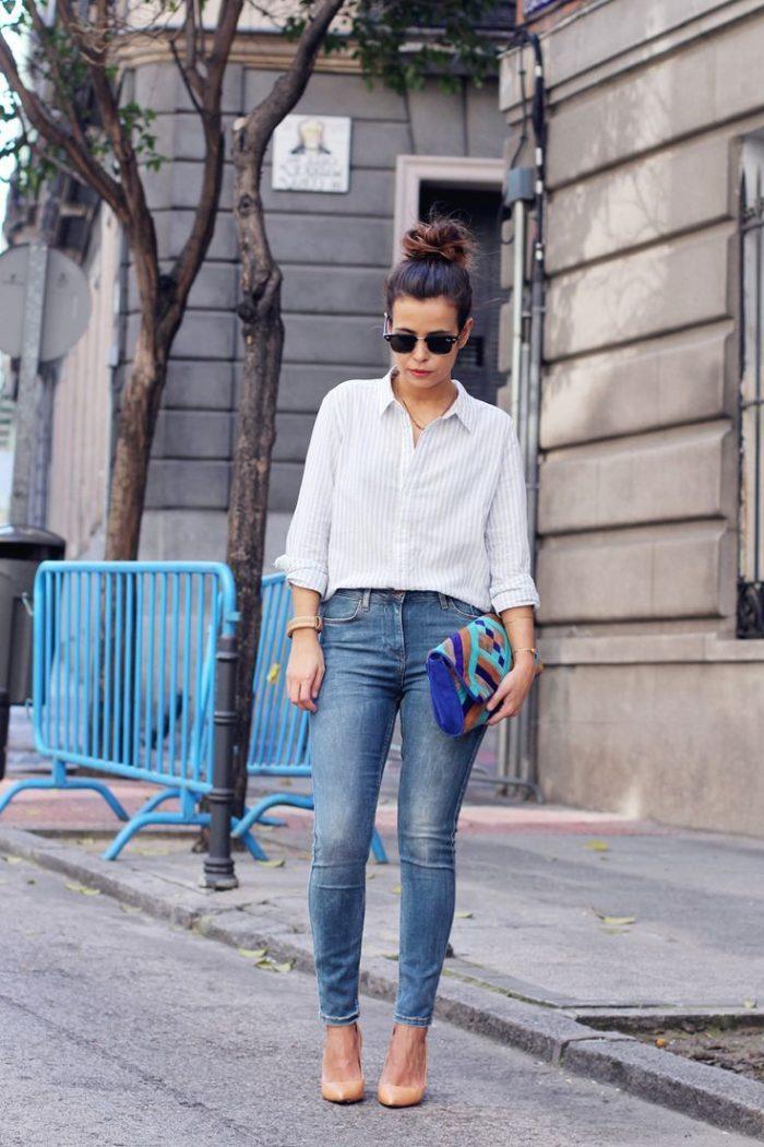 2018 High Waist Jeans For Women (8)
