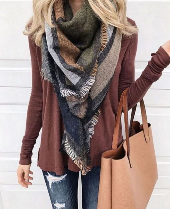 2018 Infinity Scarves For Women (1)