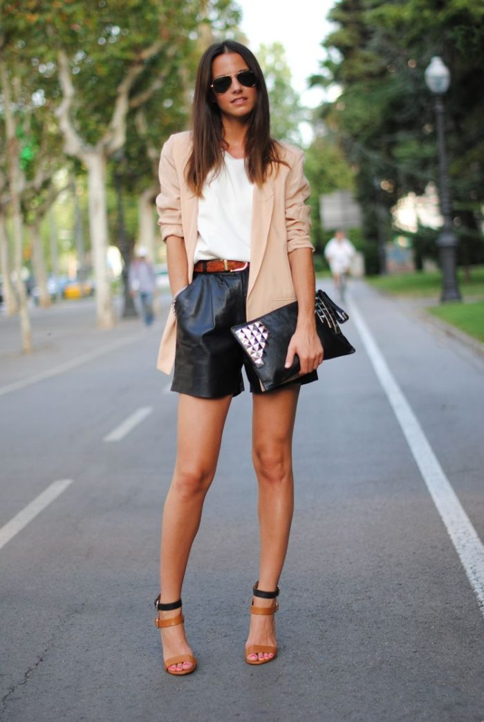 Leather Shorts For Summer 2019
