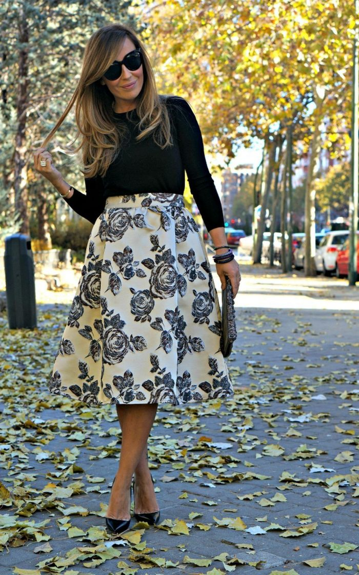 Omg! The Best Midi Skirts Ever To Try 2020