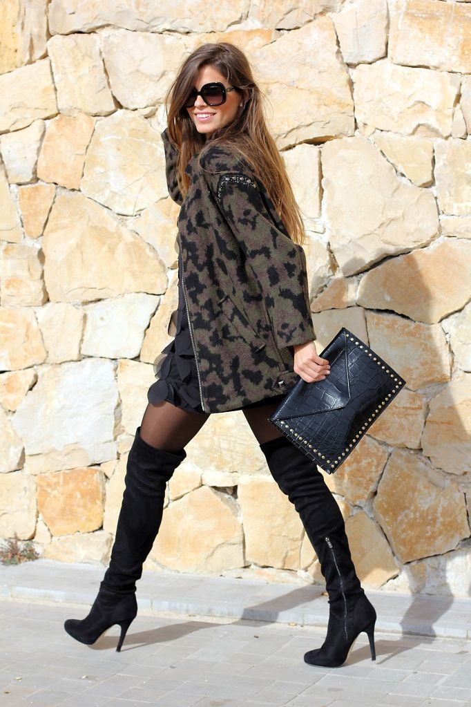cb0cf2a396e Over the Knee Boots  20 Best Looks 2019 – WardrobeFocus.com