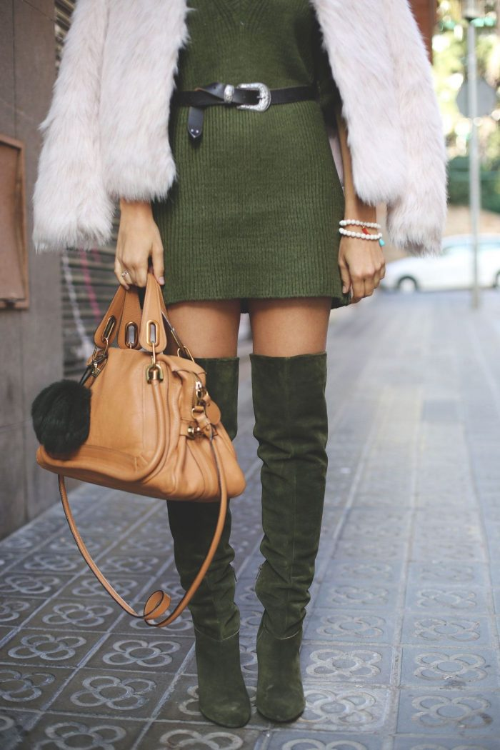 2018 Over The Knee Boots Street Style (5)
