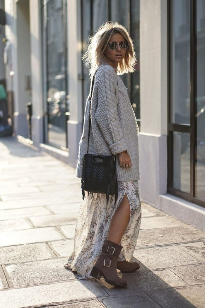 Oversized Sweaters: Best Combinations For Women 2021