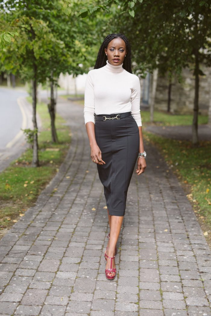 2018 Pencil Skirts For Women Street Style (23)
