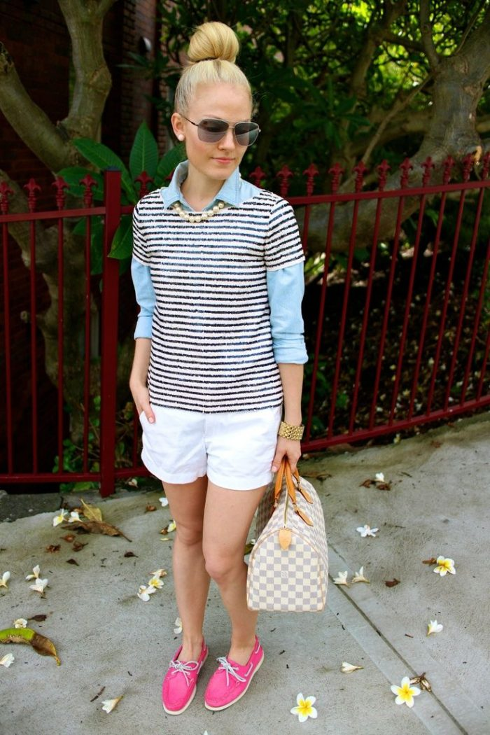 2018 Preppy Style Trend For Women (15)