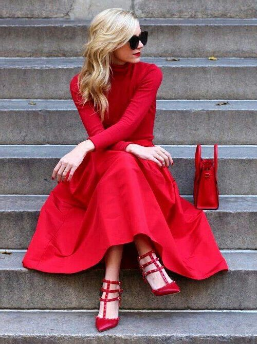2018 Red Color Trends For Women (28)